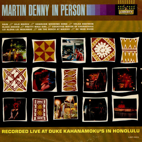 Martin Denny - In Person