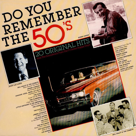 V.A. - OST Happy Days - Fonzie's Favorites -  Do You Remember The 50'S