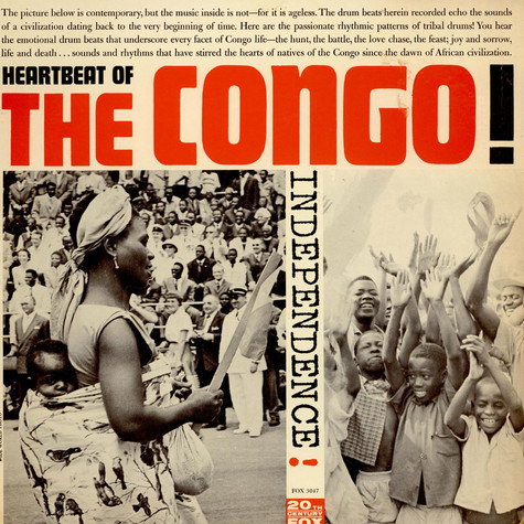 Onago And Muana - Heartbeat Of The Congo
