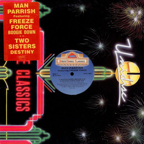 Man Parrish / 2 Sisters - Boogie Down / Destiny