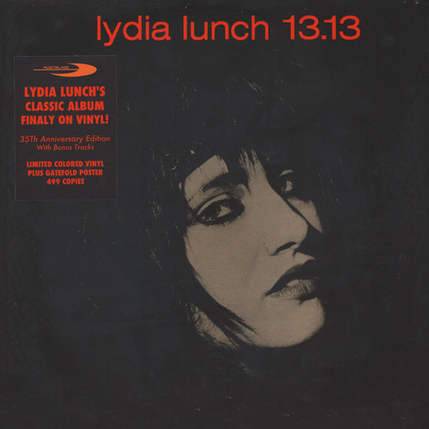 Lydia Lunch - 13.13 (Col.Vinyl+Poster)