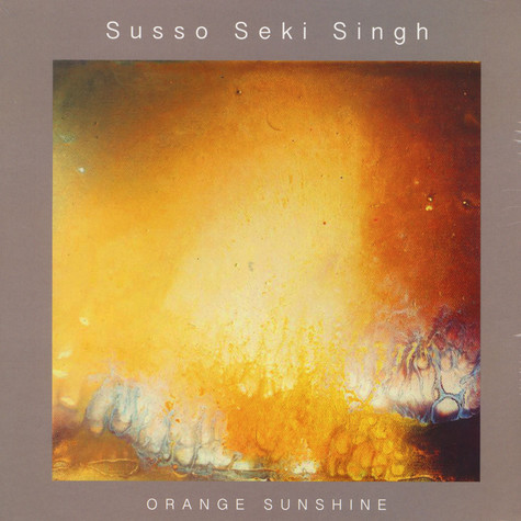 Susso Seki Singh - Orange Sunshine Gold Colored Vinyl Edition