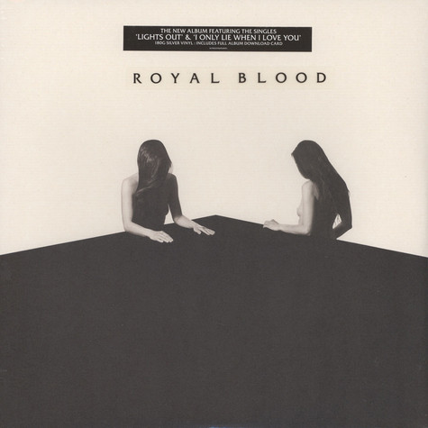 Royal Blood - How Did We Get So Dark? Silver Vinyl Edition