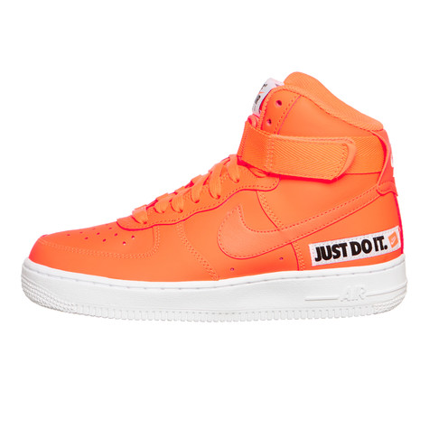 174f3cb0745f Nike - WMNS Air Force 1 High LX Leather (Total Orange   Total Orange ...
