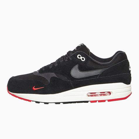new concept 94fc9 4959c Nike. Air Max 1 Premium (Black   Oil Grey   University Red ...