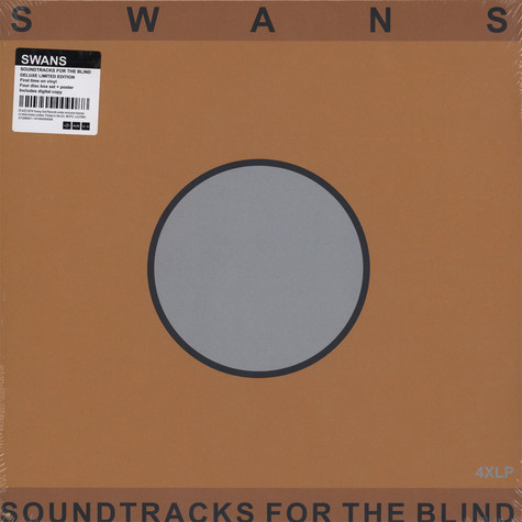 Swans Soundtracks For The Blind Vinyl 4lp 2018 Uk