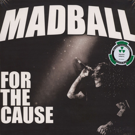 Madball - For The Cause White Vinyl Edition