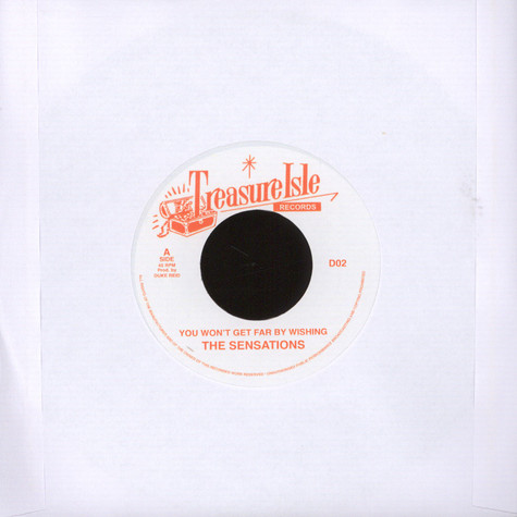 Sensations, The / Phyllis Dillon - You Won't Get Far / Things Of The Past