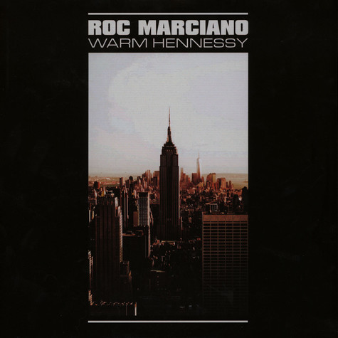 Roc Marciano - Warm Hennessy EP Black Vinyl Edition