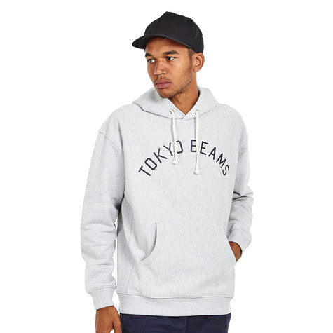 c760a965c406 Champion Reverse Weave x Beams - Hooded Sweatshirt 2 (Oxford Grey ...