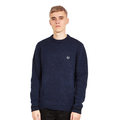 Fred Perry - Tipped Crew Neck Jumper
