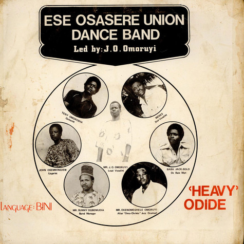 "Ese-Osasere Union Dance Band - ""Heavy"" Odide"