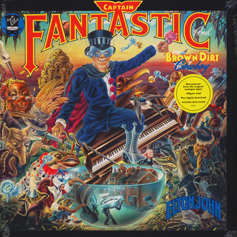 Elton John - Captain Fantastic And The Brown Dirt Cowboy Remastered