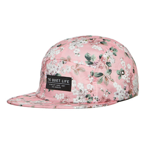 026062b2f3d72 The Quiet Life - Liberty Floral 5 Panel Camper Hat (Pink)
