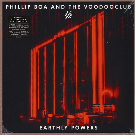 Phillip Boa & The Voodooclub - Earthly Powers Vinyl Collector's Edition