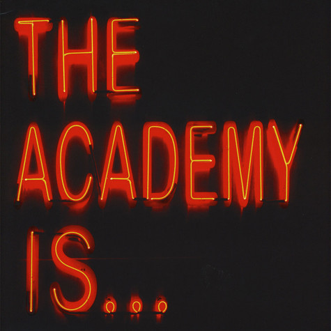 The Academy Is... - Santi Limited Black with Red & Yellow Splatter Edition