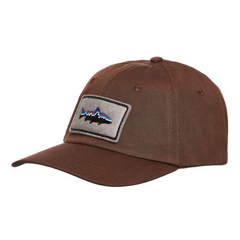 Patagonia - Fitz Roy Trout Patch Trad Cap (Timber Brown)  f7e5c94bc254