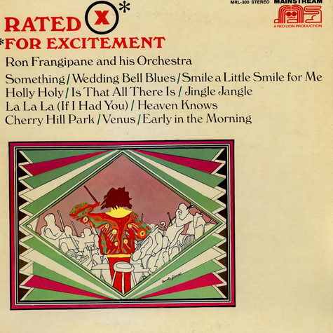 Ron Frangipane And His Orchestra - Rated X For Excitement