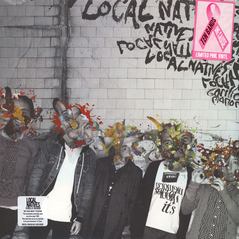 Local Natives - Gorilla Manor Ten Bands One Cause Pink Vinyl Edition