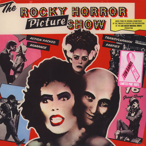 V.A. - OST The Rocky Horror Picture Show Ten Bands One Cause Pink Vinyl Edition