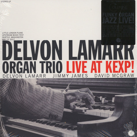 Delvon Lamarr Organ Trio - Live At KEXP Black Vinyl Version