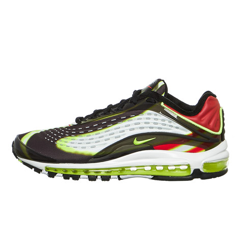 b19672aeec Nike - Air Max Deluxe (Black / Volt / Habanero Red / White) | HHV