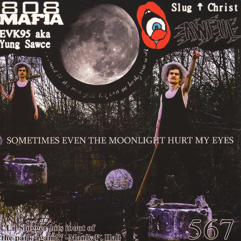 Slug Christ - Sometimes Even The Moonlight Hurt My Eyes Clear With White Splatter Vinyl Edition