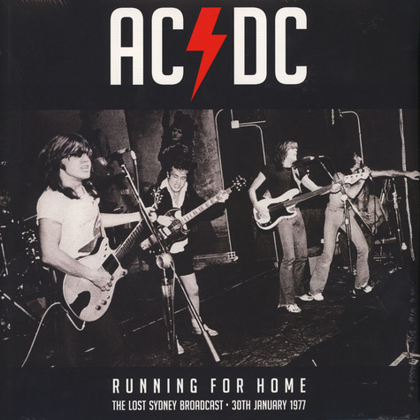 AC/DC - Running For Home Yellow Vinyl Edition