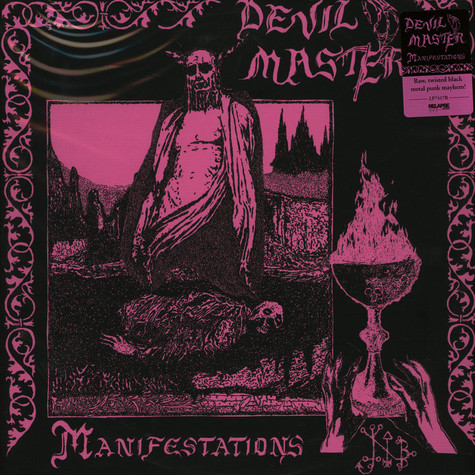 Devil Master - Manifestations Black Vinyl Edition