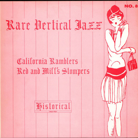 California Ramblers - Red And Miff's Stompers - Rare Vertical Jazz