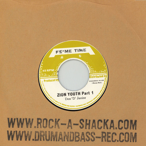 Don D Junior - Zion Youth Parts 1 & 2