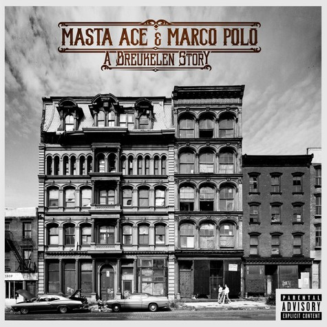 Masta Ace & Marco Polo - A Breukelen Story HHV Exclusive Black Colored Vinyl Edition