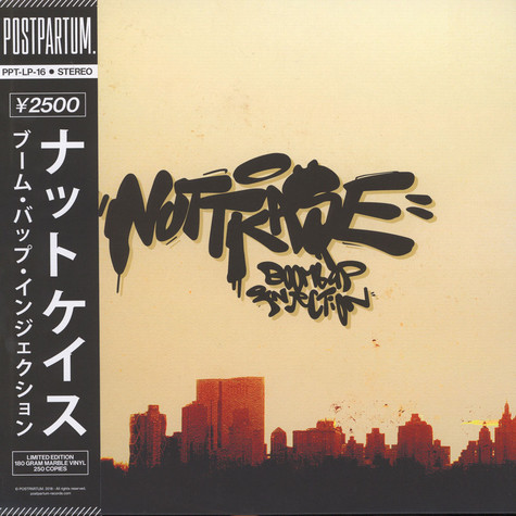 Nuttkase - Boom Bap Injection Red Marble Colored Edition