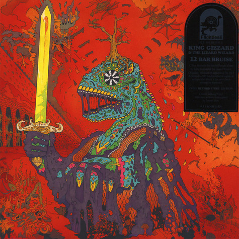 King Gizzard & The Lizard Wizard - 12 Bar Bruise Green Vinyl Edition
