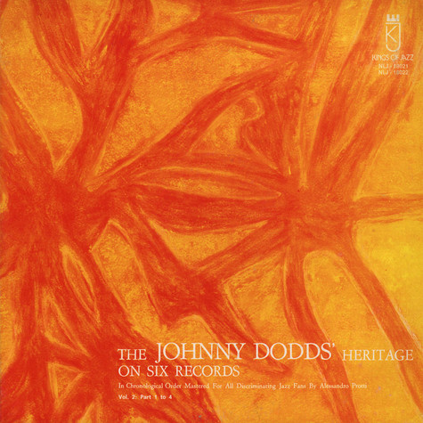 Johnny Dodds - The Johnny Dodd's Heritage On Six Records Vol.2: Part 1 To 4