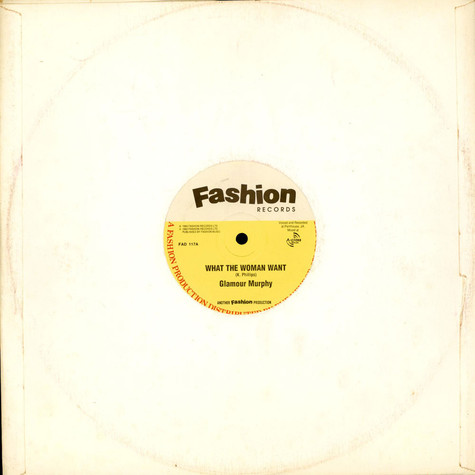 Glamour Murphy - What The Woman Want / You A Shine
