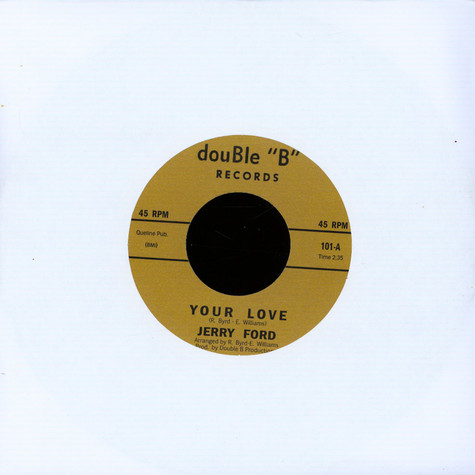 Jerry Ford / Bobby Day - Your Love