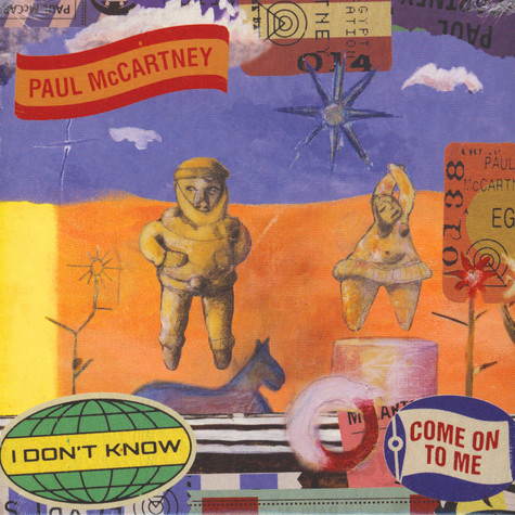 Paul McCartney - I Don't Know / Come On To Me Handnumbered Limited Edition