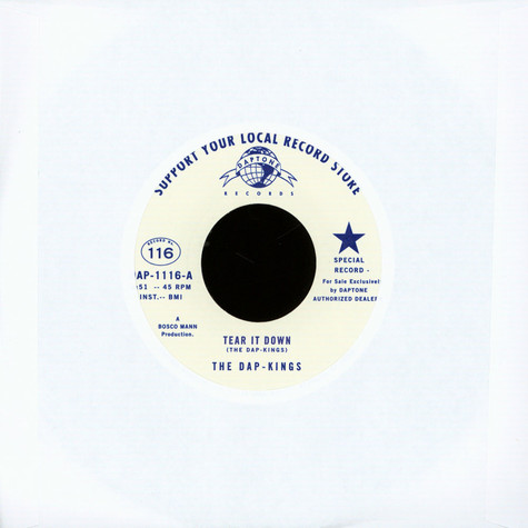 Dap-Kings, The - Tear It Down / The Collection Song