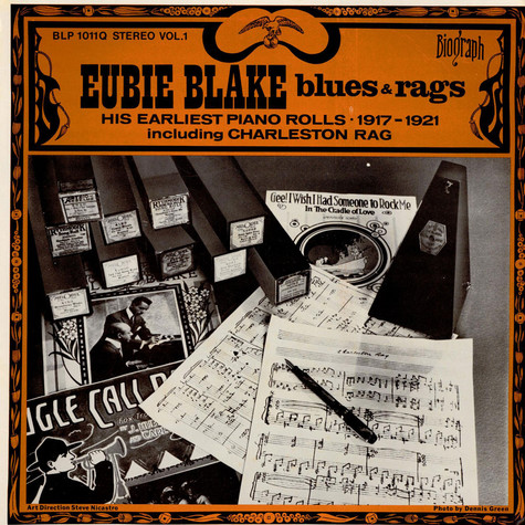 Eubie Blake - Blues And Ragtime Volume 1