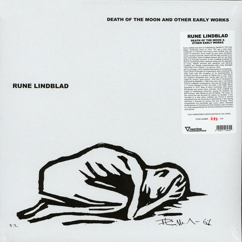 Rune Lindblad - Death Of The Moon & Other Early Works