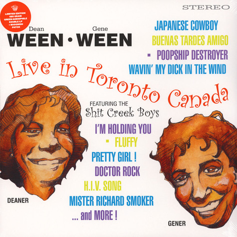 Ween - Live in Toronto Colored Vinyl Edition