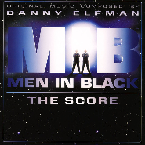 Danny Elfman - OST Men In Black The Score Galaxy Splatter Vinyl Edition
