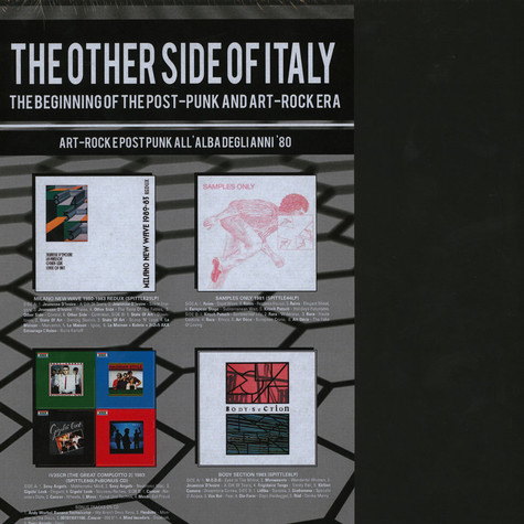 V.A. - The Other Side Of Italy: The Beginning Of The Post-Punk And Art-Rock Era