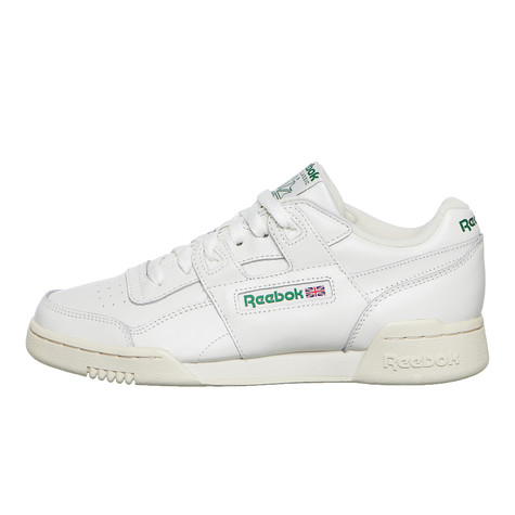 d256dbc761e Reebok - Workout Lo Plus (Chalk / Paperwhite / Green) | HHV