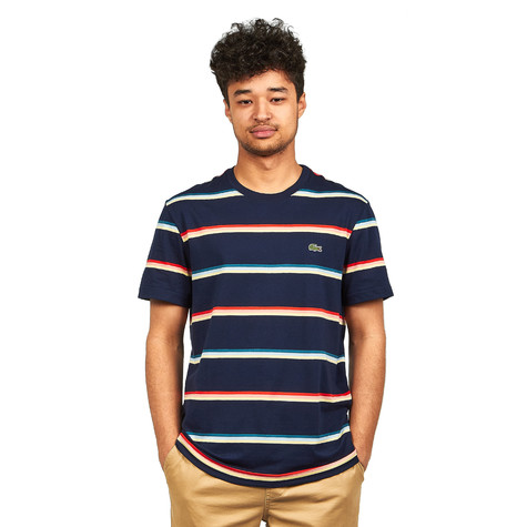 Lacoste - Striped Pima Jersey