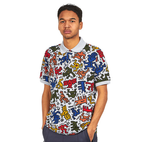 Lacoste x Keith Haring - Printed Single Mini Pique Polo