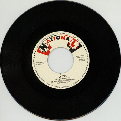 Bert Inniss National Recording Orchestra & Mighty Sparrow - Slave / The Slave
