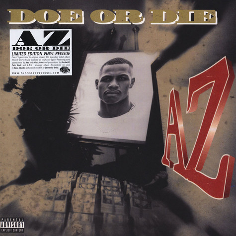 AZ - Doe Or Die Black Vinyl Edition
