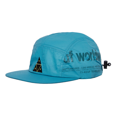 81a4ee1f2dc HUF - Boulevard Volley Hat (Deep Jungle)